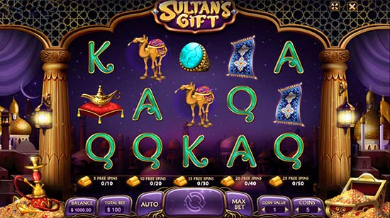 آموزش بازی هدیه سلطان Sultan's Gift در سایت شرط بندی