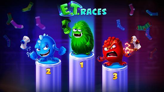 آموزش بازی مسابقه هیولا E.T. Races در سایت شرط بندی