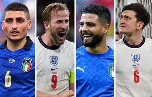 پیش بینی بازی ایتالیا و انگلیس فینال یورو 2020